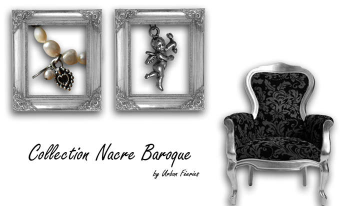 Bijoux nacre baroque urban féeries collection 2010