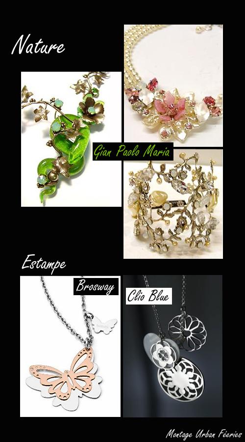 Bijoux tendances 2009 nature
