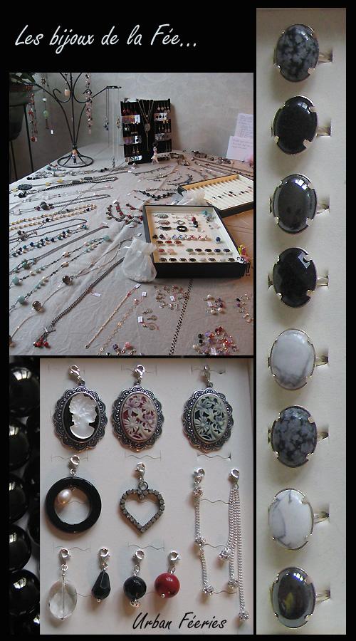 Exposition des bijoux urban féeries créés par la fée clochette