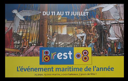 Brest 2008 le rassemblement des vieux gréements