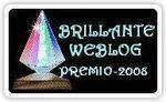 Le prix du Brillante Weblog 2008