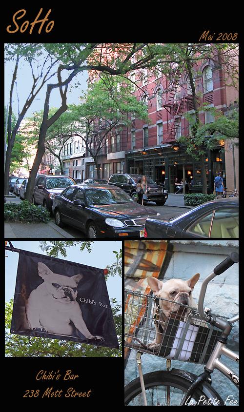 Le Chibi's Bar à New-York Mott Street