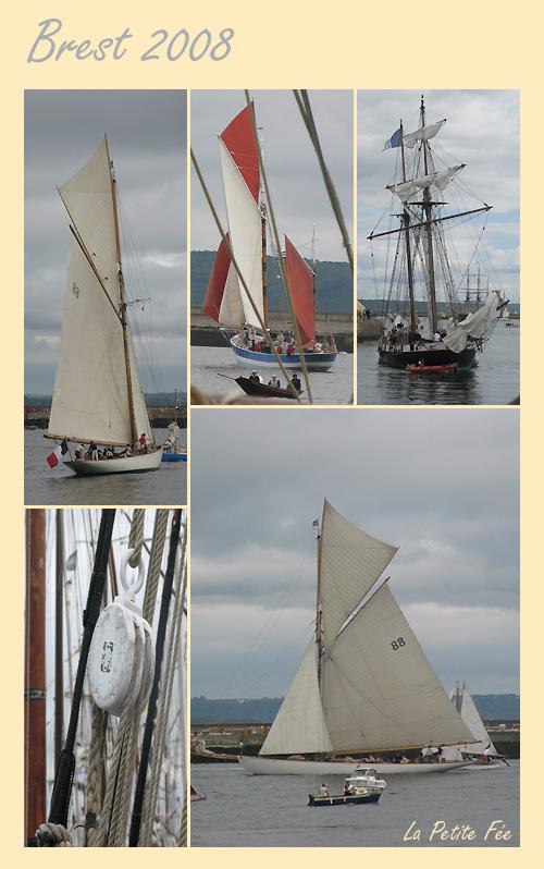 Brest 2008 la recouvrance et autres voiliers