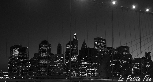 Manhattan vu du brooklyn bridge