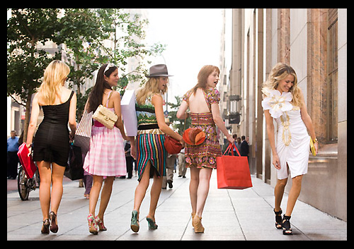 Carrie Bradshaw et Sex and the city, le film