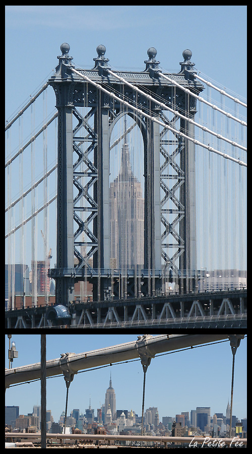 Brooklyn bridge et Empire State Building