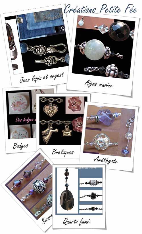 bijoux de la Fée Clochette