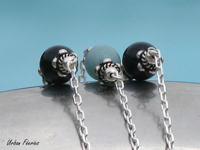bracelet argent agate amazonite Urban Feeries