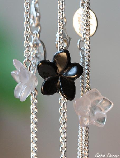 bracelets agate quartz rose urban feeries