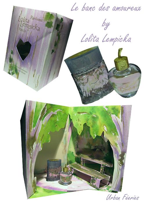 cadeau miniatures parfum Lolita Lempicka