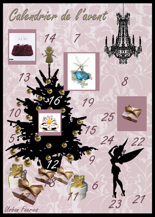 Le calendrier de l'avent de la fée clochette