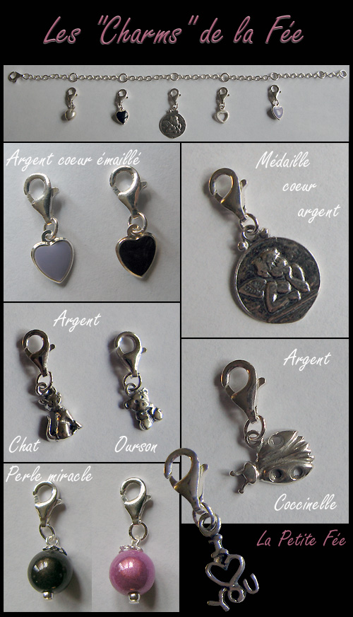 Collection de charms de la fée clochette