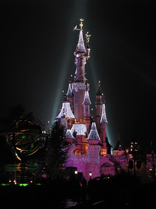 Le chateau de la Belle au bois dormant à Eurodisneyland