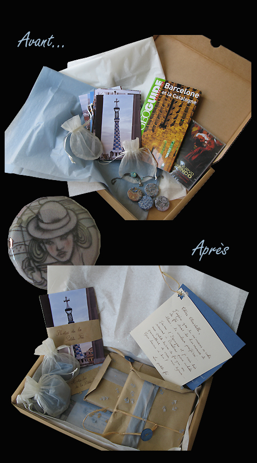 paquet cadeau du swap voyage