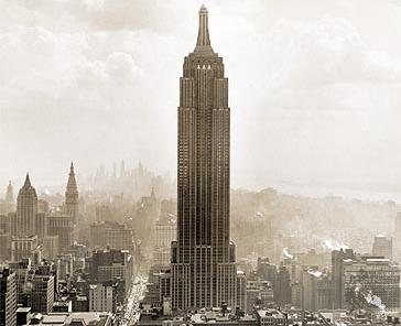 empire state building et manhattan
