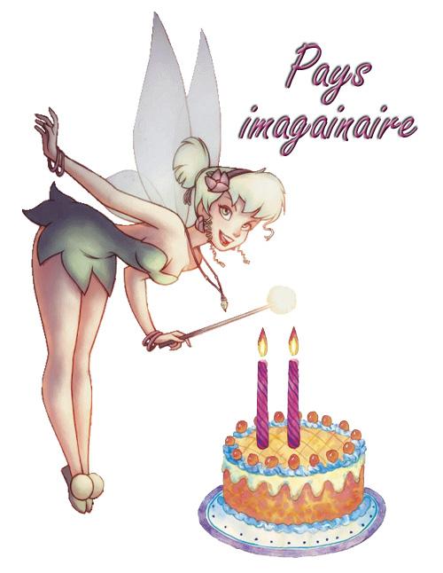 anniversaire du blog de la fée clochette et du pays imagianire