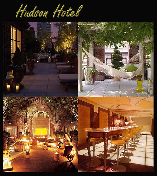 Hudson hotel à New-York