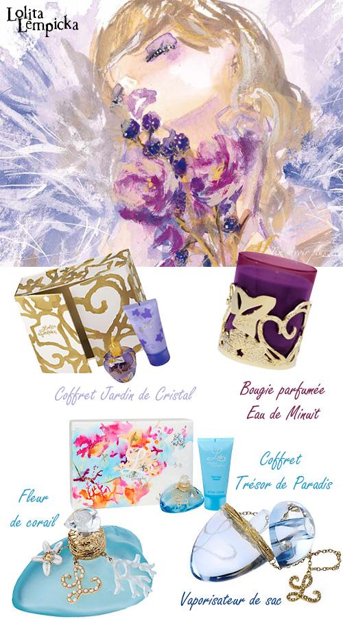 Coffrets cadeaux parfums Lolita Lempicka