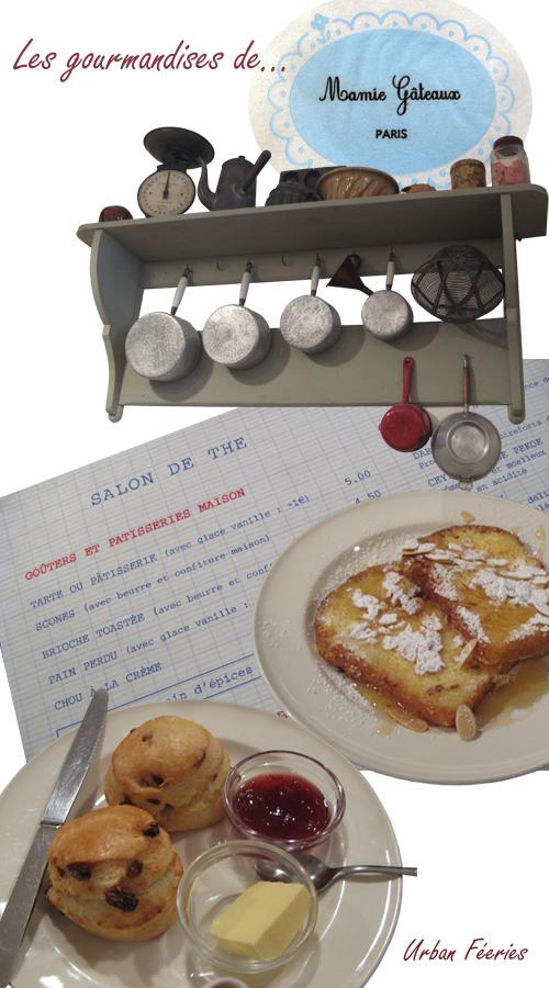 Le salon de thé Mamie gâteaux rue du Cherche Midi à Paris
