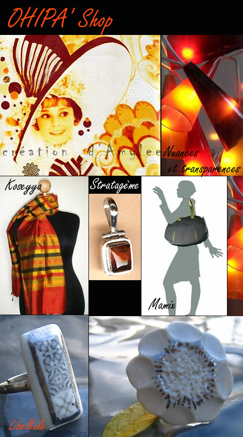Expo vente créateurs mode déco ohipa'shop