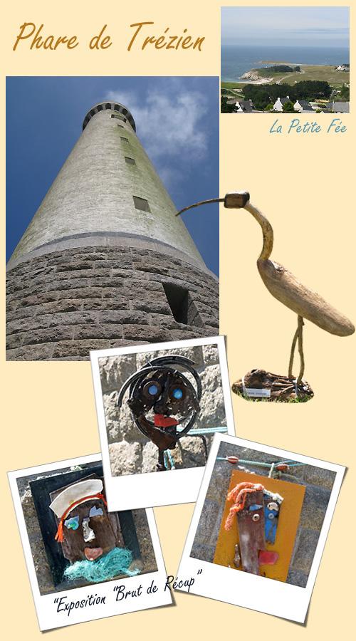 Le phare de Trézien dans le Finistère en Bretagne