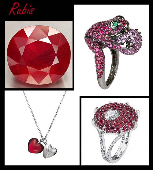 Bijoux en rubis