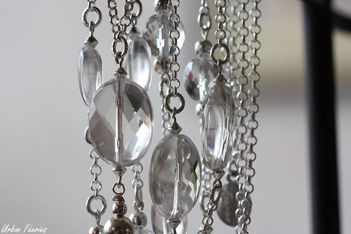sautoir cristal de roche argent urban feeries