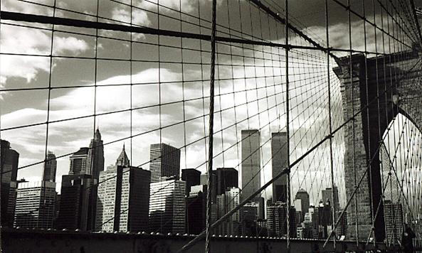 le brooklyn bridge et manhattan