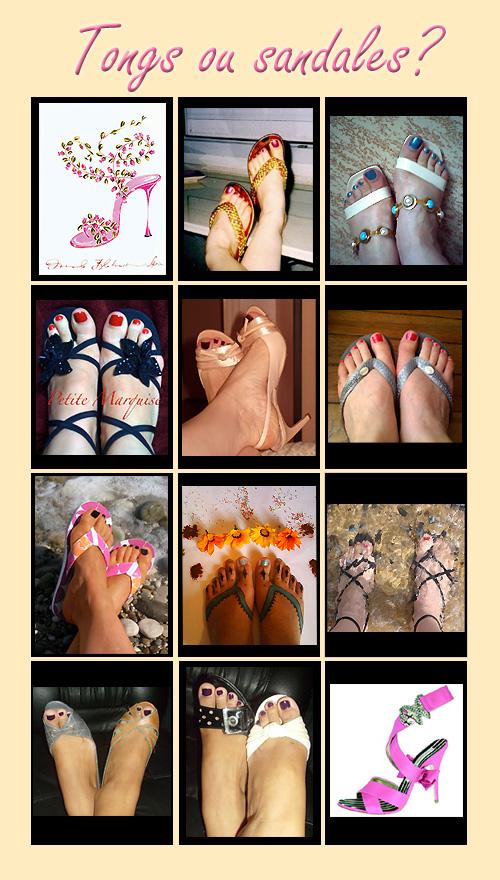 Photos de tongs ou sandales