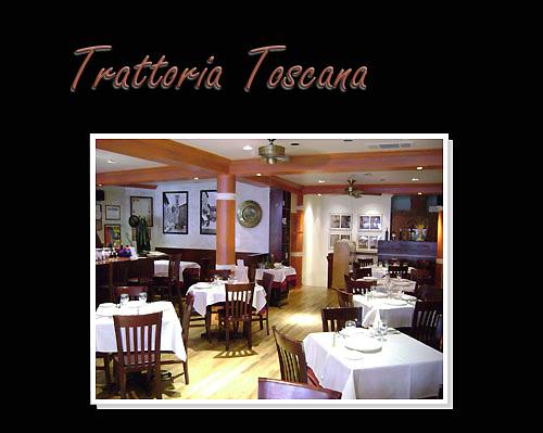 restaurant trattoria toscana à new-york