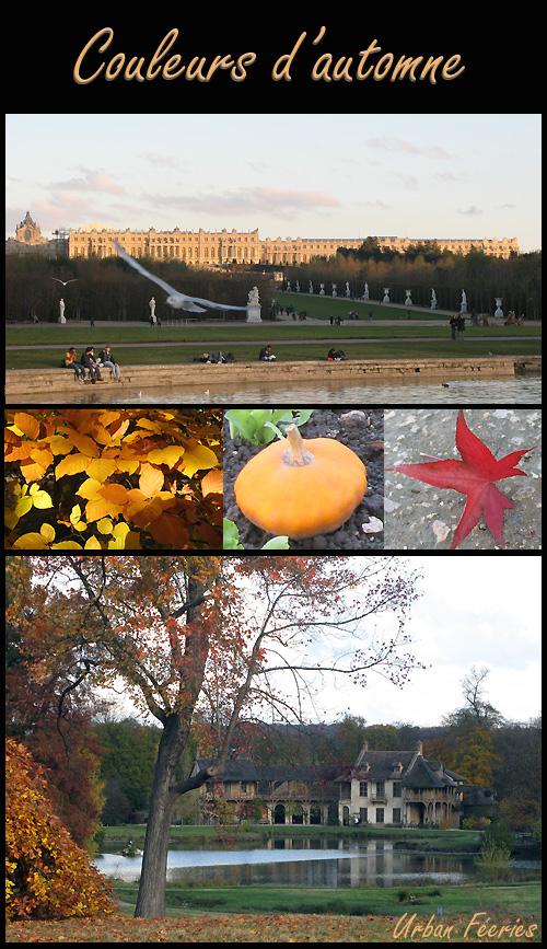 le parc de Versailles en automne