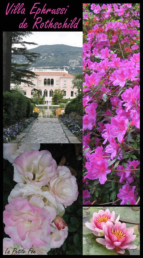 villa et jardins ephrussi de rothschild à bealieu sur mer saint jean cap ferrat